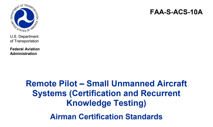 the faa will require recertification for commercial drone pilots