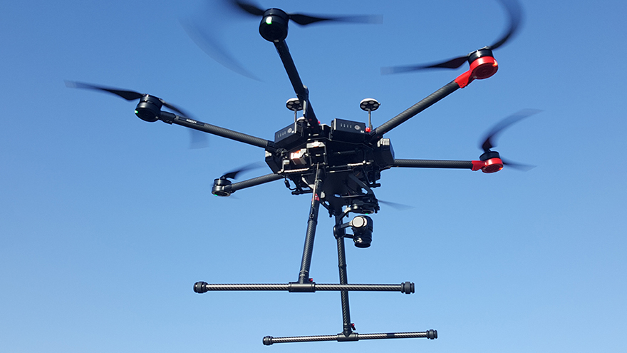 Real-Time Organ Delivery by Drone Tested | InterDrone